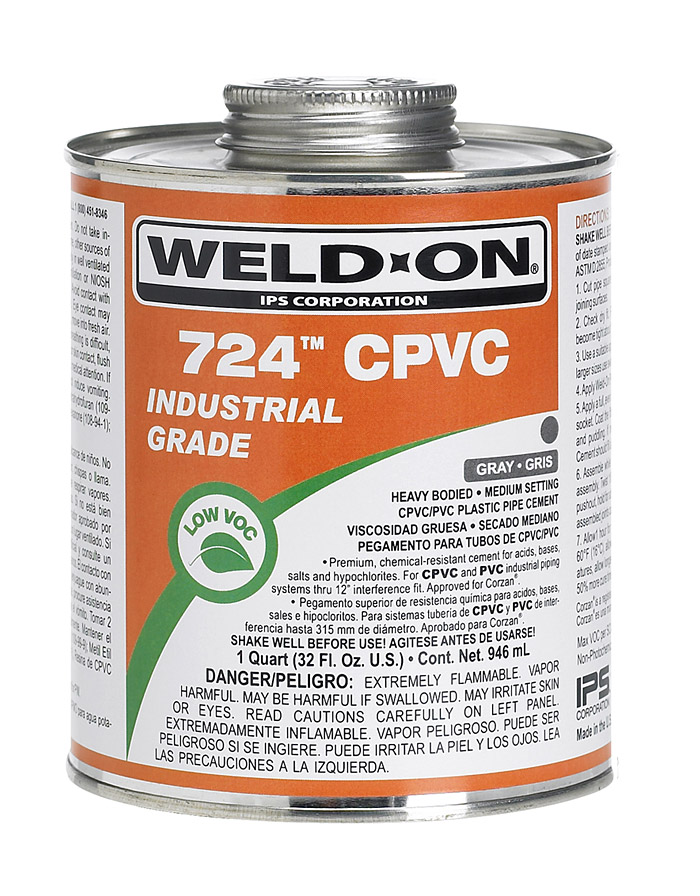 724(Adhesives for CPVC)