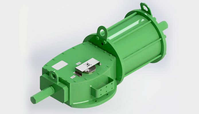 DA Heavy Duty actuator