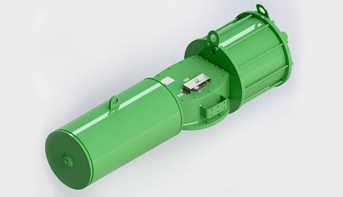 Single Acting Heavy Duty actuator
