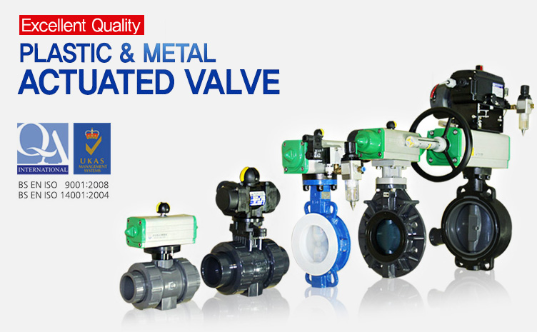 Plastic Actuated valve