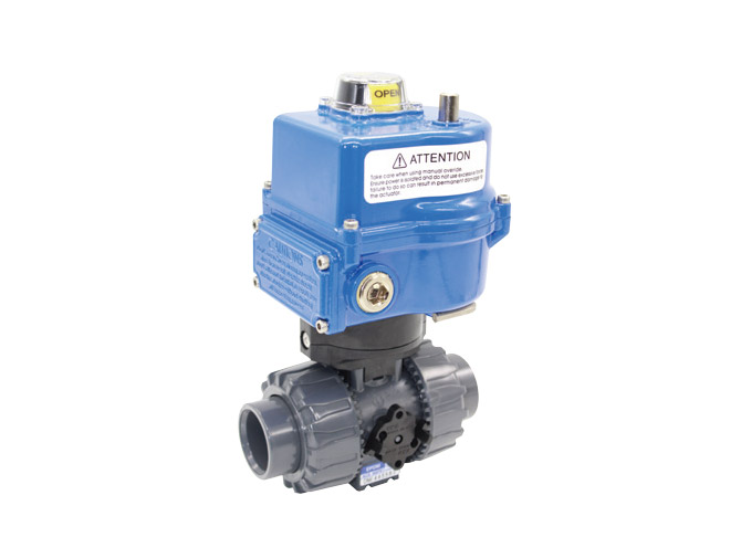 PVC Actuated valve(Domestic)