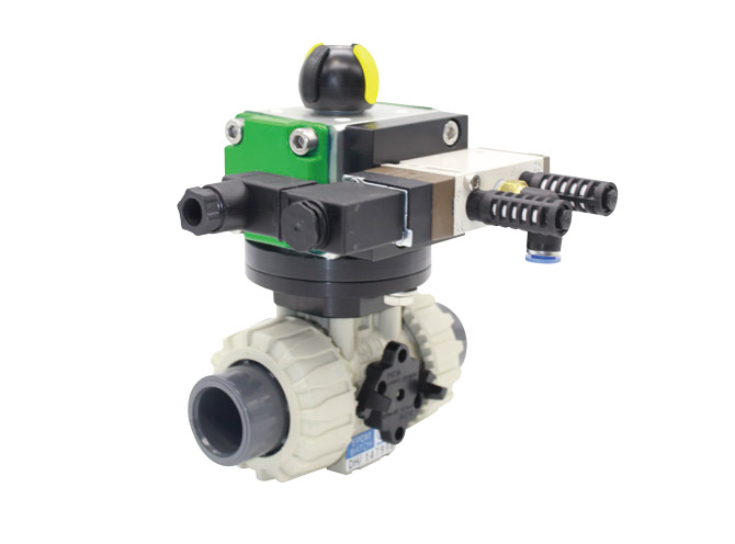 PFA Actuated valve