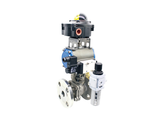 SUS Actuated valve